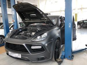 Диагностика двигателя на Cayenne Turbo
