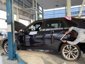 Локальный ремонт BMW Х5