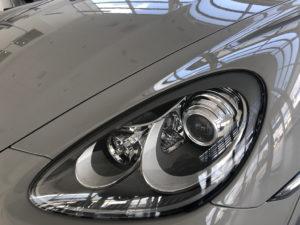 Полировка фар Cayenne Turbo