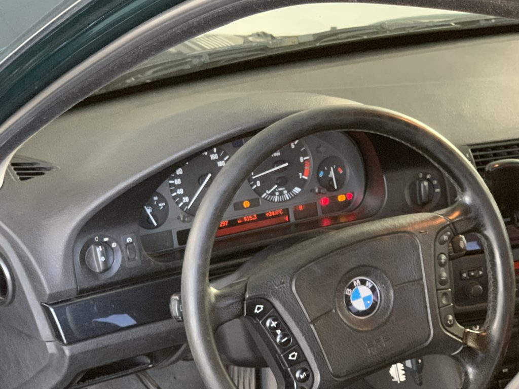 Загорелись ошибка на 525 BMW