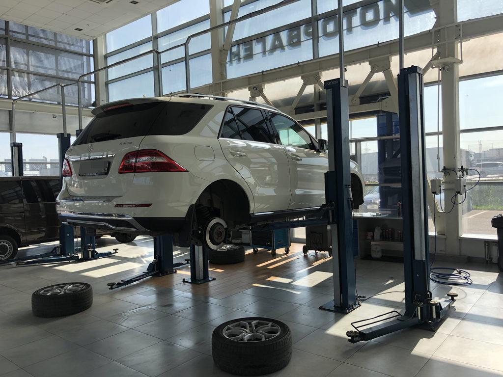 Замена колес ML