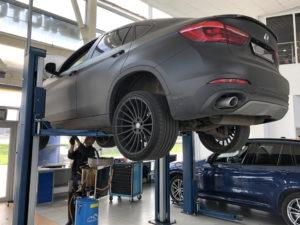 Замена масла BMW Х6
